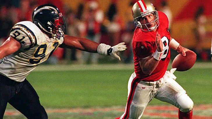 Click visit to take the full quiz! As of 2017, this quarterback holds the record for touchdown passes in a single Super Bowl.In Super Bowl XXIX, Young threw six touchdown passes in the San Francisco 49ers' 49-26 win over the San Diego Chargers. (Photo: CBS Sports) -- Answer: Steve Young -- #Sports