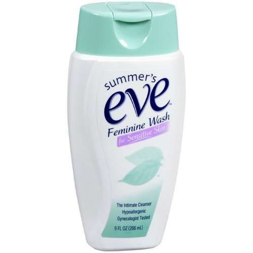 Feminine Wash for Sensitive Skin Summer's Eve 9 oz Cleanser For Women by Feminine Wash for Sensitive Skin. $3.99. Soap free.. It eliminates odor without irritating your skin.. Safe and effective feminine wash.. Hypoallergenic. Gynecologist tested.. Summers Eve Feminine Wash eliminates odor without