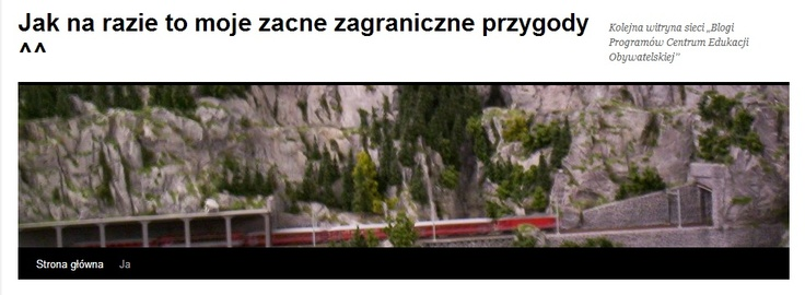Podróże Klaudii z 6b  (http://blogiceo.nq.pl/mklaudia6bns/)