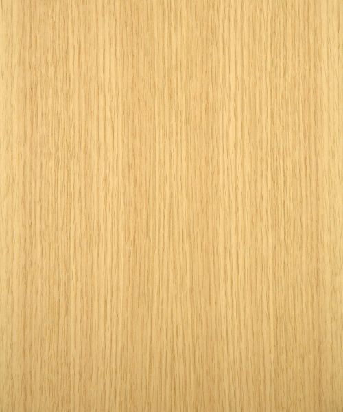 Rift cut red oak veneer wood products