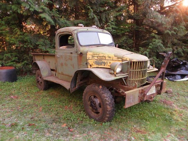 1941 Dodge 1/2 ton WWII Military WC   Dodge Powerwagons ...