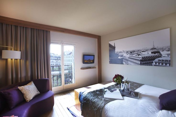Sleek, air-conditioned apartments 500 metres from Centre Pompidou in Paris... the ever stylish Citadines Prestige Les Halles.
