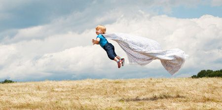 Querer es poder!!! Seeeee.... ^_^ Flying Baby by #pinterst @toxel