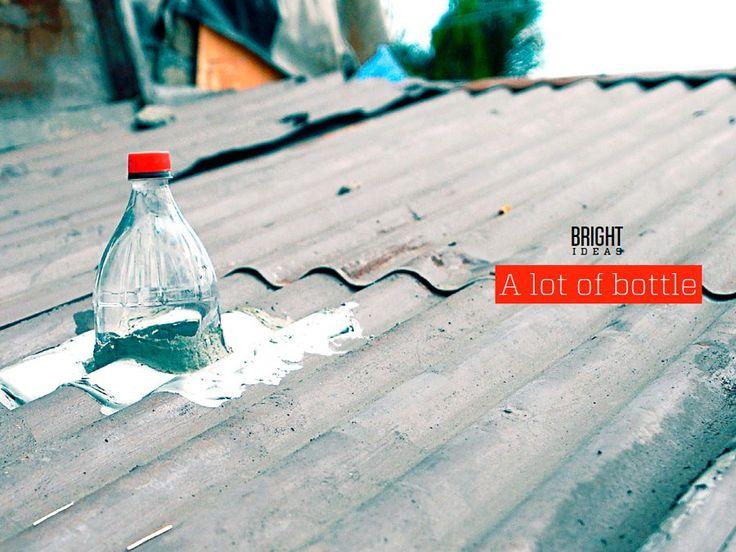 Филиппинский предприниматель Иллак Диас предложил использовать ещё и солнечные панели при освещении жилищ бутылками с водой.