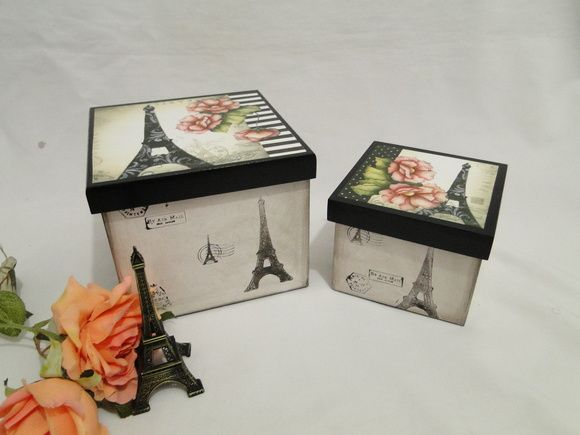 Conjunto de Caixas Organizadoras Paris