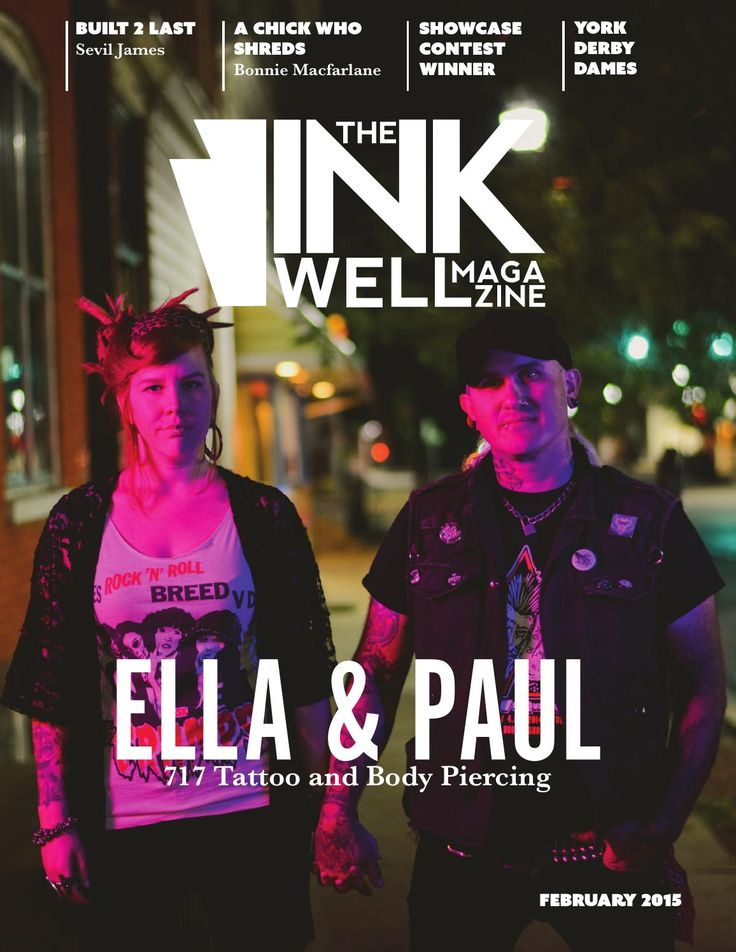 The Ink Well Magazine  The Ink Well Magazine is a synergistic creative publication that benefits everyone: advertisers, readers, artists, shops and distributors. It is an innovative way to gather people together to help change the face of tattoo as an art form and to help business minded people to grow their businesses.  As Central PA's first tattoo magazine, The Ink Well is your free guide to finding a reputable professional tattoo artist and shop. A tattoo is a life long commitment, have…