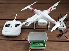 DJI Phantom 1.5 / 1 Quadcopter Drone with remote big battery and charger