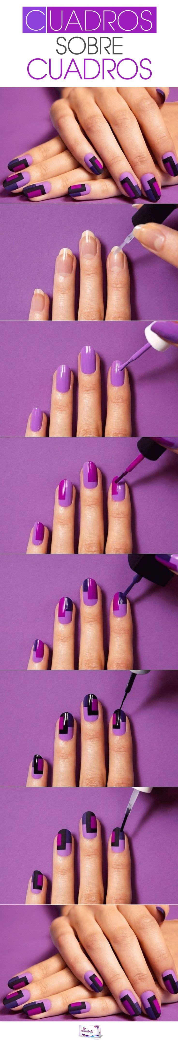 Animate a lucir diferente hasta en tus uñas.  #Nails #Style #DIY #Women #Primabela