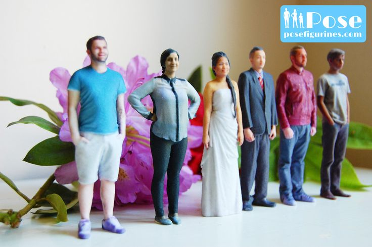 posefigurines.com offer full-colour 3dprinted figurines from just $99 the perfect gift for every member of your family!
