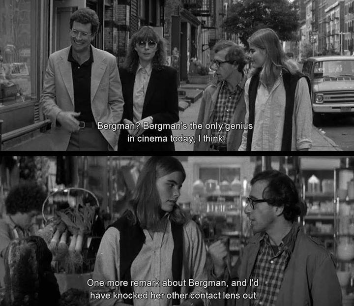 Woody <3 #woodyallen #woodyallenquotes #Manhattan #IngmarBergman #cinema #cinematheia Inside Woody Allen's Life In The 1960s of New York--> http://ift.tt/1SMBuPJ