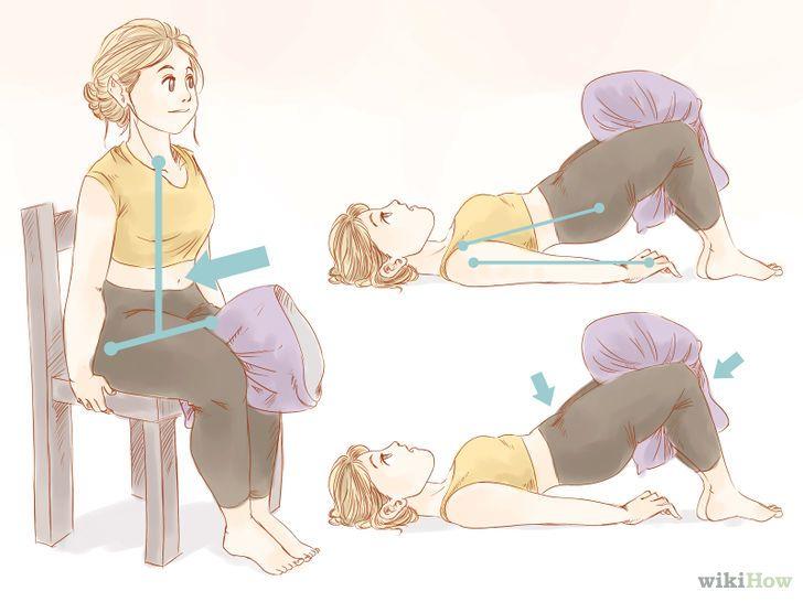 AFFINER LES JAMBES EXCELLENT : • exercer des pressions sur la face interne des cuisses • Faire des levées de jambes de type Pilates