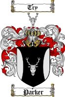 $8.99 Parker Family Crest / Parker Coat of Arms - Download Family Crests