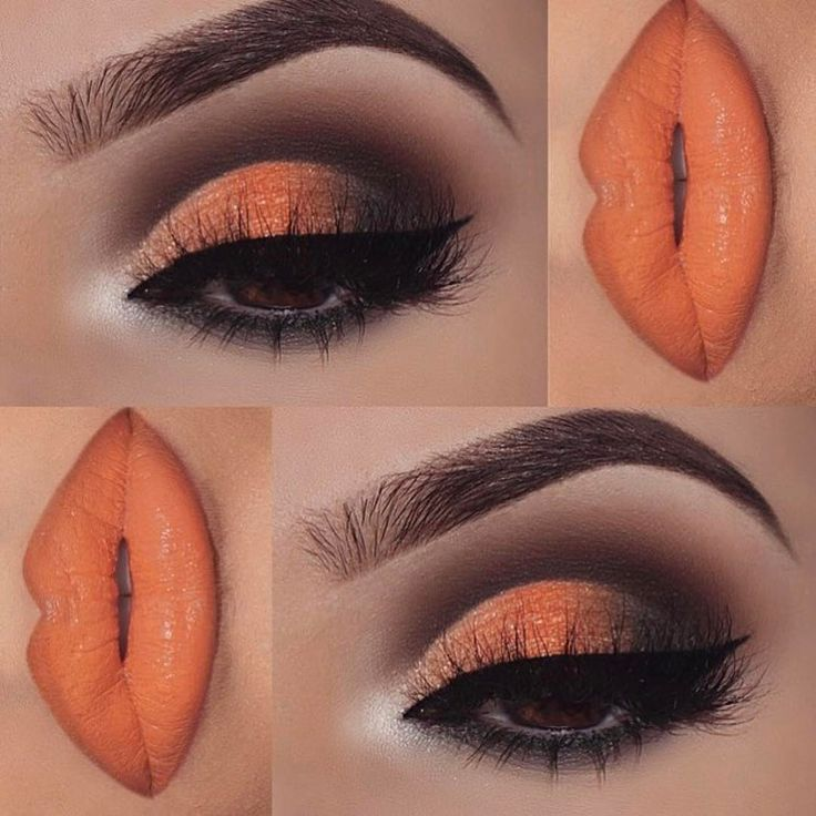 "15.5k Likes, 39 Comments - Formerly MarysMotives (@maryhadalittleglam) on Instagram: ""Love it  #Repost @nasiabelli ・・・ A pop of orange I used @deckofscarlet new palette designed by…"""