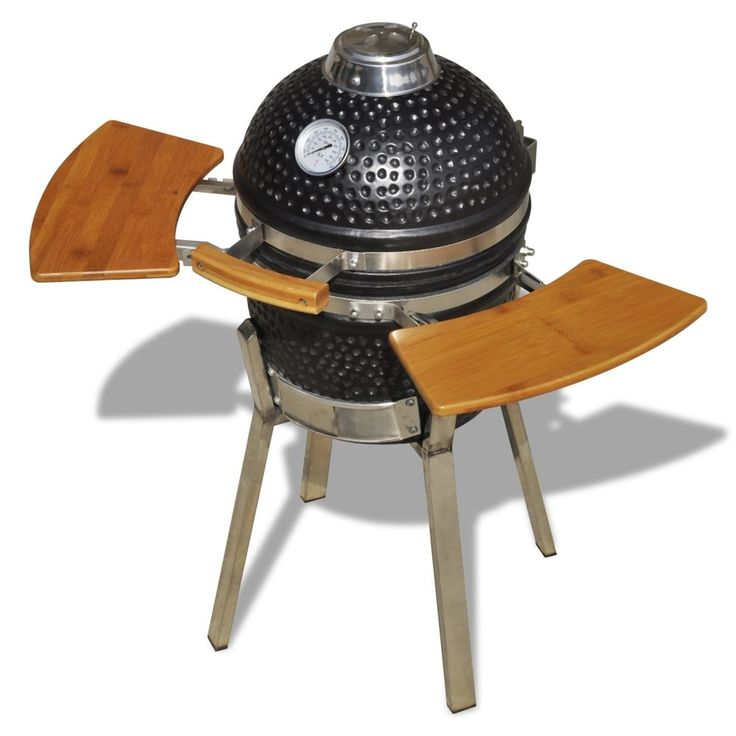 New Kamado Barbecue Grill BBQ Grill Smoker Cooking Appliance Ceramic 76 cm in Garden & Patio, Barbecuing & Outdoor Heating, Barbecues | eBay