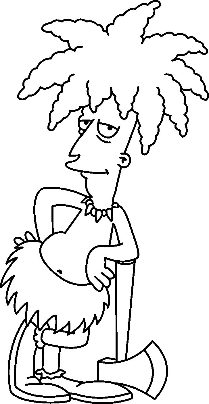 Colouring pages holi - Free Coloring Pages For Kids Simpsons Coloring Pages