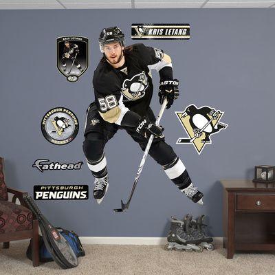 Elegant NHL Pittsburgh Penguins Kris Leteng Wall Decal Sticker