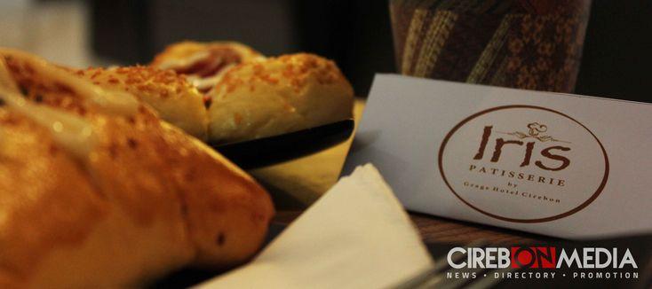 Iris Patisserie by Grage Hotel Cirebon merupakan outlet baru yang menyediakan beraneka ragam kue dan roti.