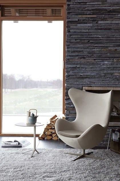 Moderne U0026 Retro Hangstoel: The Egg Chair
