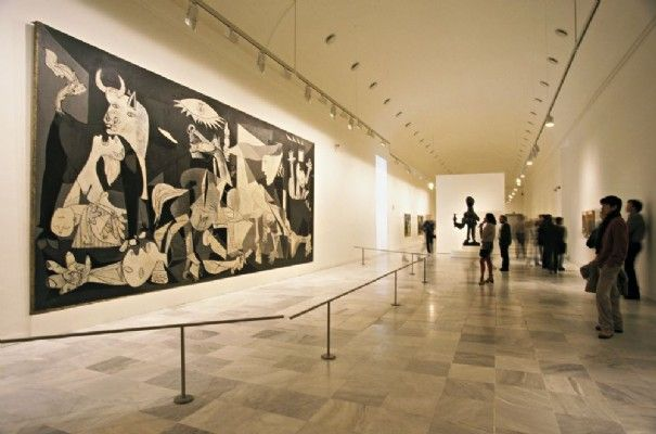 Guernica-Picasso. Madrid, Spain. -bc