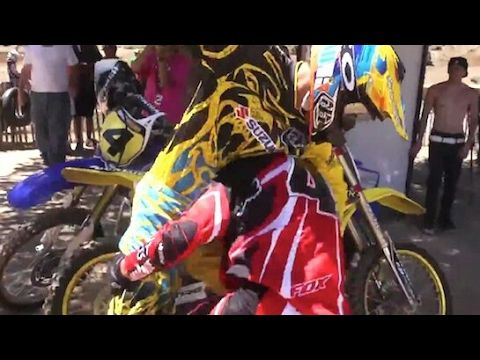 Motocross fights & angry people