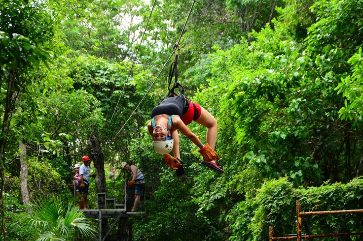 Thirsty for a charge of adrenaline? Get on the wild adventure train in the heart of Mexico! http://aktun-chen.com/blog/el-turismo-de-aventura.html