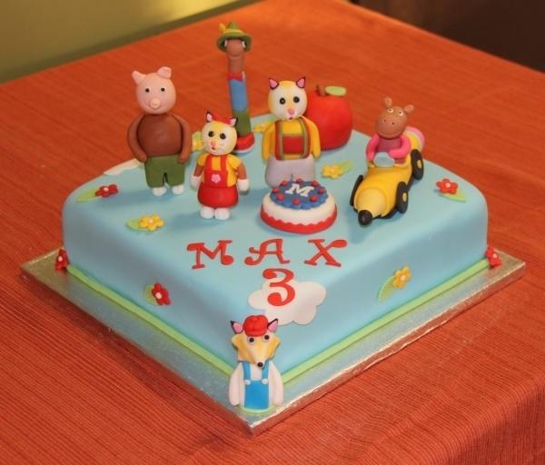 Busytown Mysteries Birthday Cake