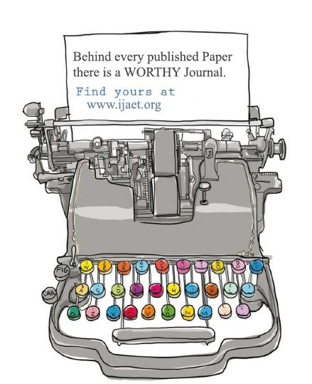 Behind every published paper there is worthy journal as IJAET