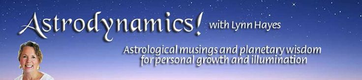 Astrodynamics is an adventure created by Lynn Hayes that combines the guidance of the planets (astro) with a dynamic process of creating and manifesting a new life vision (dynamics), reaching beyond the boundaries of a typical astrological reading into a journey of healing,