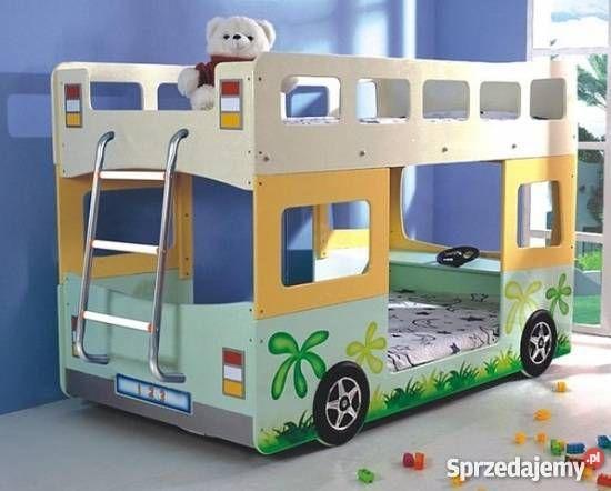 Łóżko piętrowe autobus