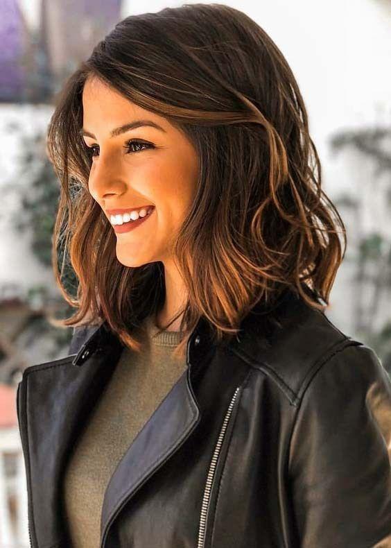 23+ Süße Frisuren für schulterlanges Haar für Frauen - Süße Schultern