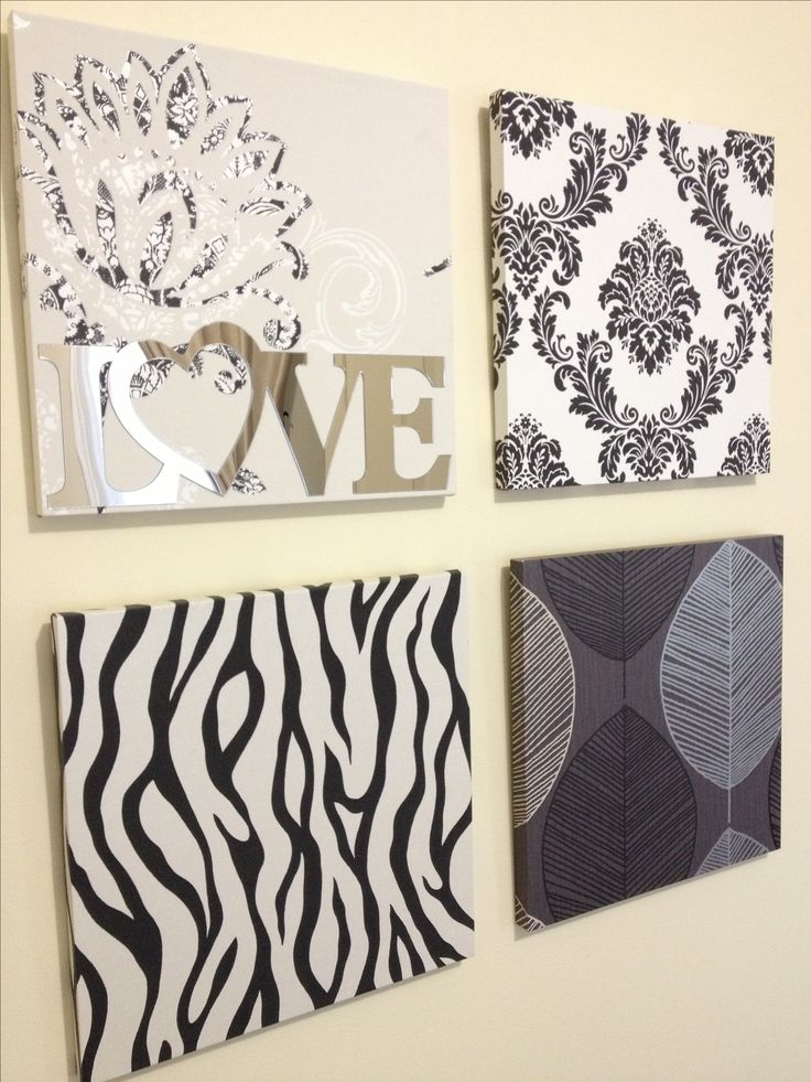 Creating a bedroom wall decoration without spending a fortune! Here are the materials used:  - Free Wall Paper samples from any hardware store or a home depo store - Wall paper glue  - MDF plywood ($9 for the 60x90 but cut into 6 equal squares) - LOVE sticker from BigW for $1.98