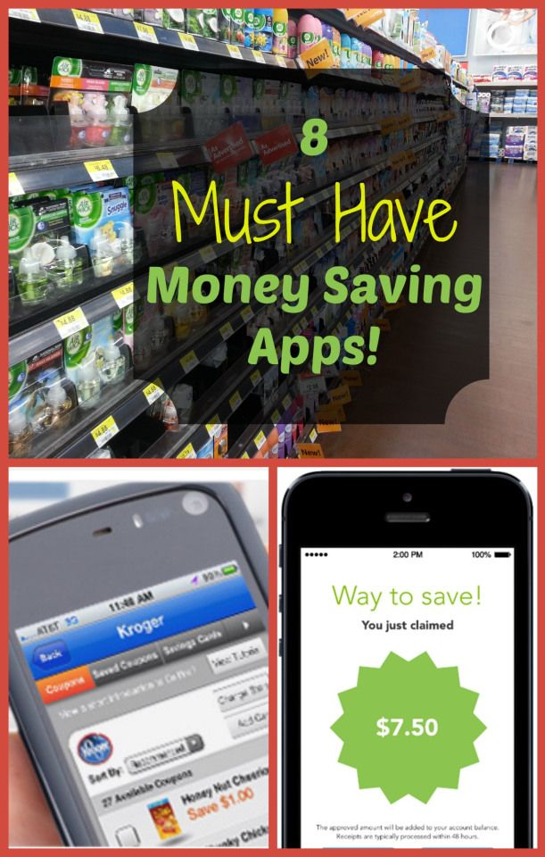 My Top 8 Favorite Money Saving Apps!