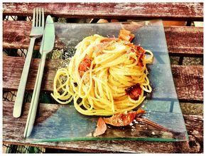 veritable recette de pates carbonara italienne !!!