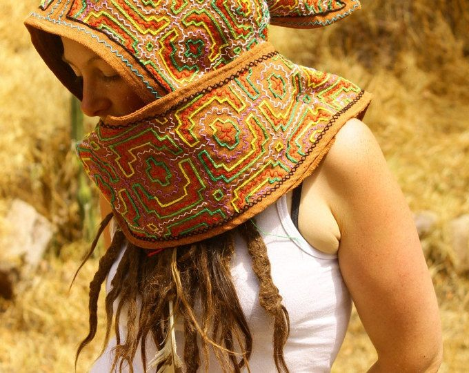 Shipibo Indigenous Amazon Tribe Ayahuasca patterns, Embroidery.TribalElemental, a global marketplace of handmade, vintage and creative goods.
