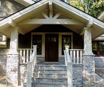 From Split-Level to Craftsman, Front Porch