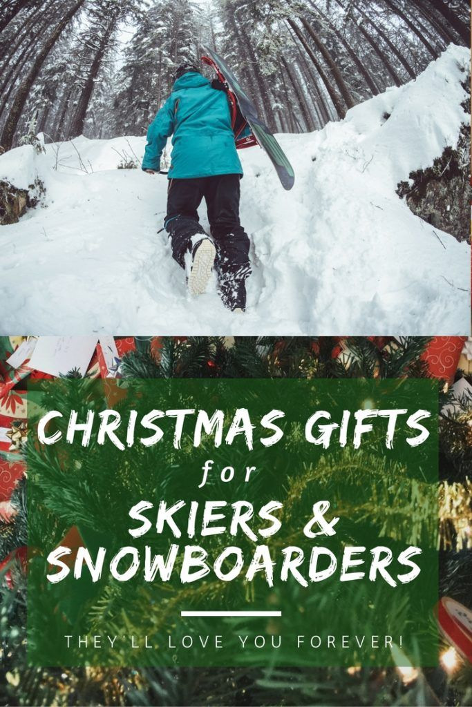 Need some inspiration this Christmas? Here's our list of the best Christmas presents for skiers and snowboarders!