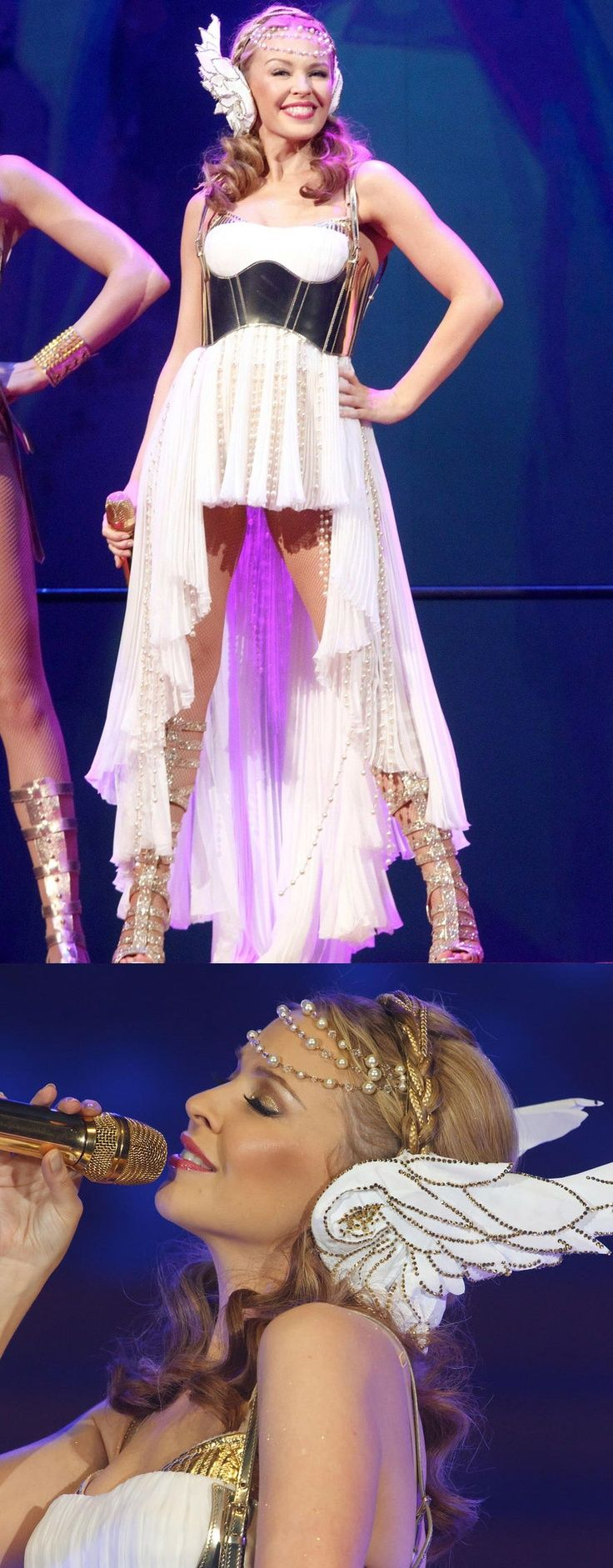 Aphrodite Costume Ideas | Greek Goddess Aphrodite Halloween Costume Idea. Kylie Minogue Les ...