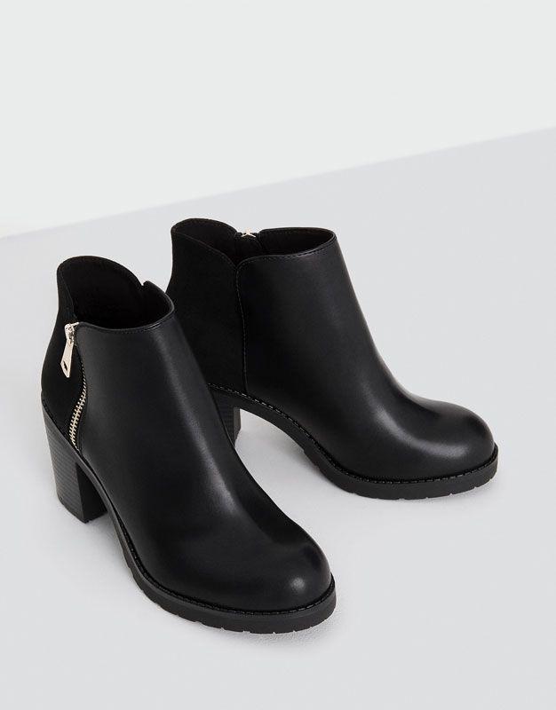 Classic high heel ankle boots - Kotníčková obuv - Boty - Ženy - PULL&BEAR Czech Republic