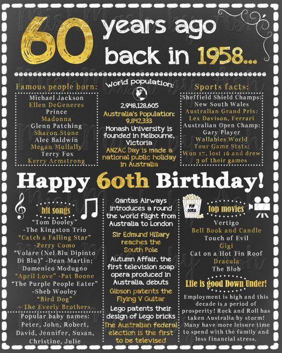 60th Birthday Decoration Ideas