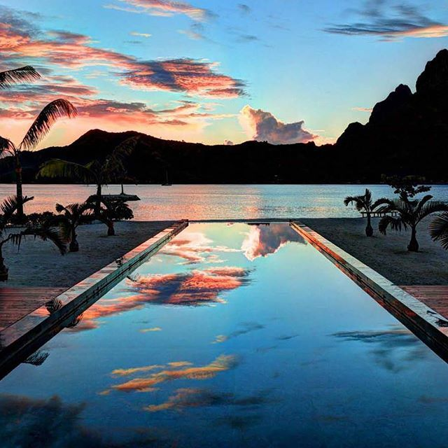 Jaw dropping views from Bora Bora One Luxury Vacation Villa in French Polynesia.... | http://ift.tt/2b7Z089 shares #travel #destination for #rich #vacation and #holiday. #Get #hotels #Deals at http://ift.tt/2b7Z089