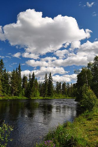 Foskros, near Idre, Sweden. I spent every summer and winter here. Best place on earth.