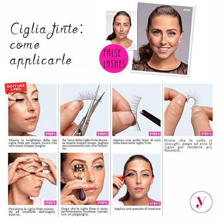 Credevate che applicare le ciglia finte fosse complicato? Guardate il tutorial! http://www.vanitylovers.com/prodotti-make-up-occhi/ciglia-finte.html?utm_source=pinterest.com&utm_medium=post&utm_content=vanity-ciglia-finte&utm_campaign=pin-mitrucco