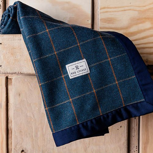 Vineyard Wool Blanket. It's a combination of sophisticated design, specially selected fabrics and very high quality craftsmanship.