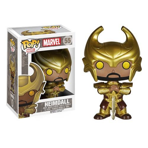 Thor The Dark World Heimdall Vinyl Bobble Head