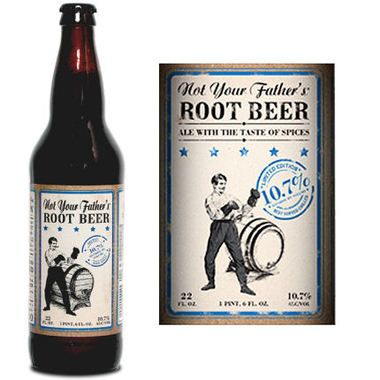 Small Town Brewery Not Your Father's Root Beer 10.7% ABV 22oz is unmatched in flavor. It appeals to craft beer aficionados as well as those who don't typically drink beer but crave something unique. 092000020225