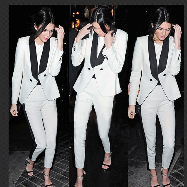 New fashion 2016 Winter&autumn ladies white Suit Blazer Women outerwear Business basic Jacket coat pants Female OL Blazers  US $62.10 /piece  Specifics Gender	Women Item Type	Blazers Decoration	Button Clothing Length	Regular Pattern Type	Striped Closure Type	Single Breasted Hooded	No Material	Cotton,Polyester,Rayon,Microfiber Collar	Notched Sleeve Length	Full Model Number	h1475 Brand Name	Delicia Fabric Type	Broadcloth  Click link to buy other product http://goo.gl/p8JMyk