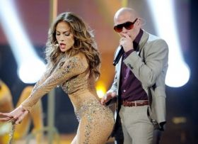 """""""I wanna dance, and love and dance again,"""" Jennifer Lopez sings on the new song """"Dance Again"""" which is reportedly featuring Latino rapper Pitbull."""