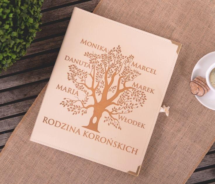Personalizowany album na zdjęcia DRZEWO