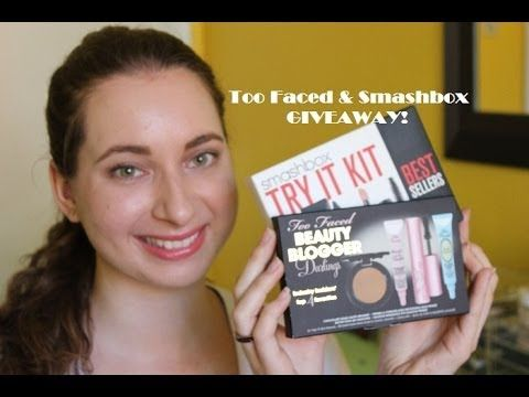 THANK YOU GIVEAWAY ft. Too Faced and Smashbox ♡ 2 Winners!
