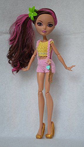 Outfits for Ever After High, Crochet Doll Clothes Mdmtn http://www.amazon.com/dp/B00MJWE4TU/ref=cm_sw_r_pi_dp_siF-vb02G2X7S